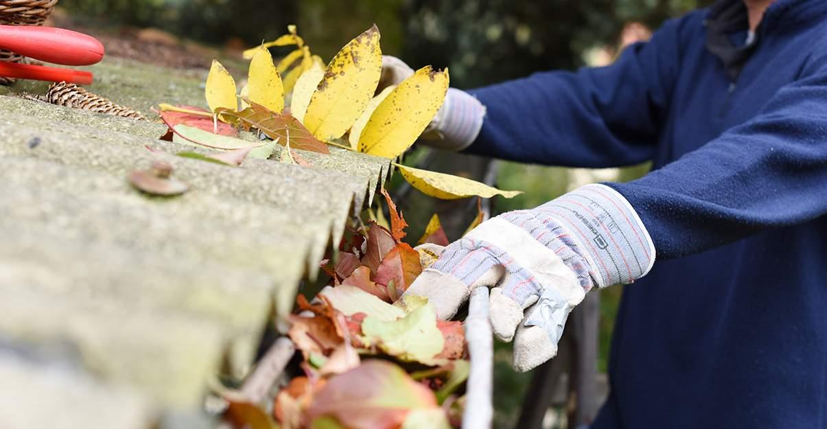 Nettoyer régulièrement sa gouttière, le premier réflexe pour une toiture pérenne