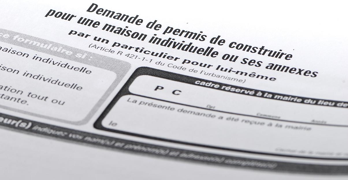 Formulaire de demande de permis de construire