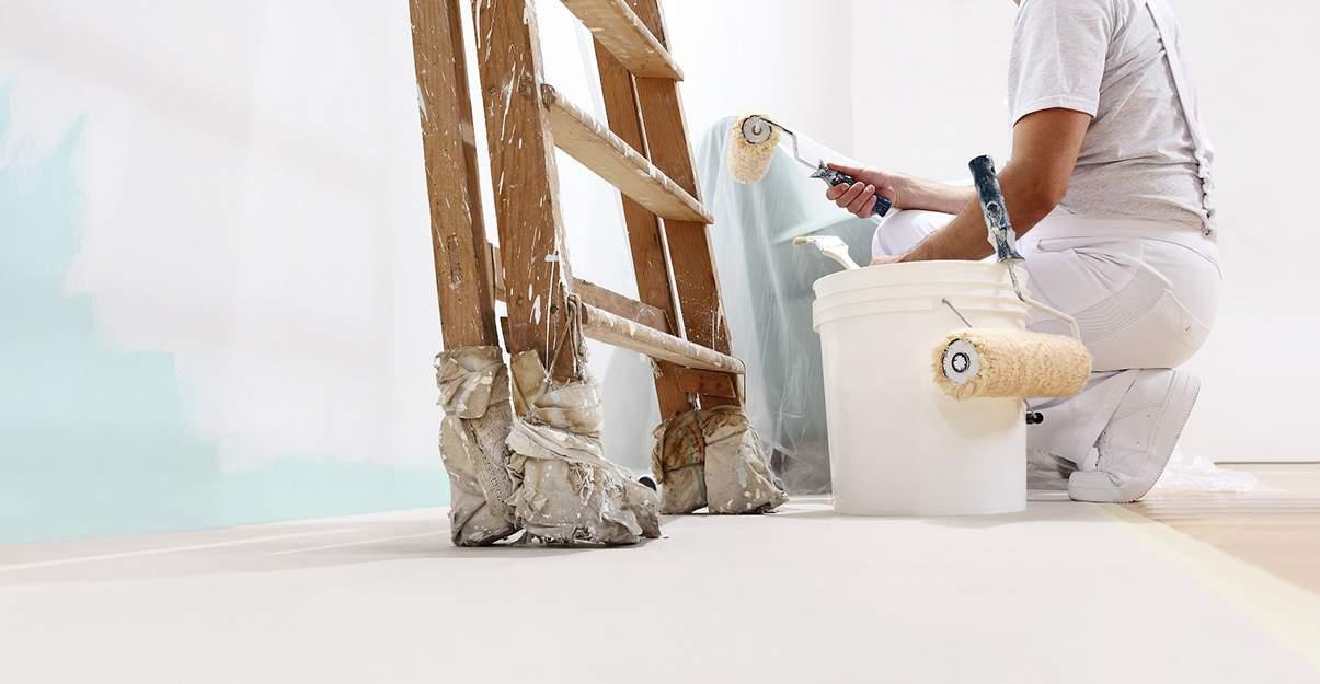 Rénovation légère mise en peinture