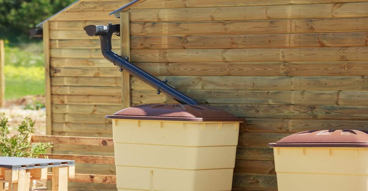 Le collecteur d'eau de pluie, ultra simple