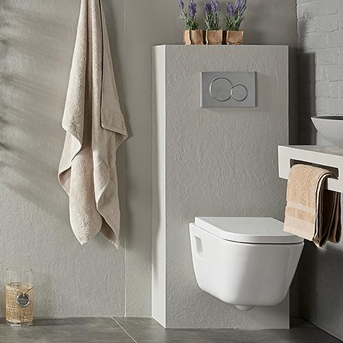 Habillage Bâti de WC