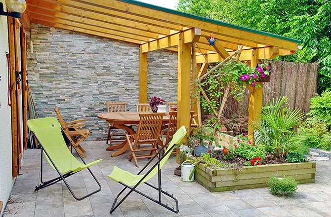 Aménagement d'une terrasse : l'ombre