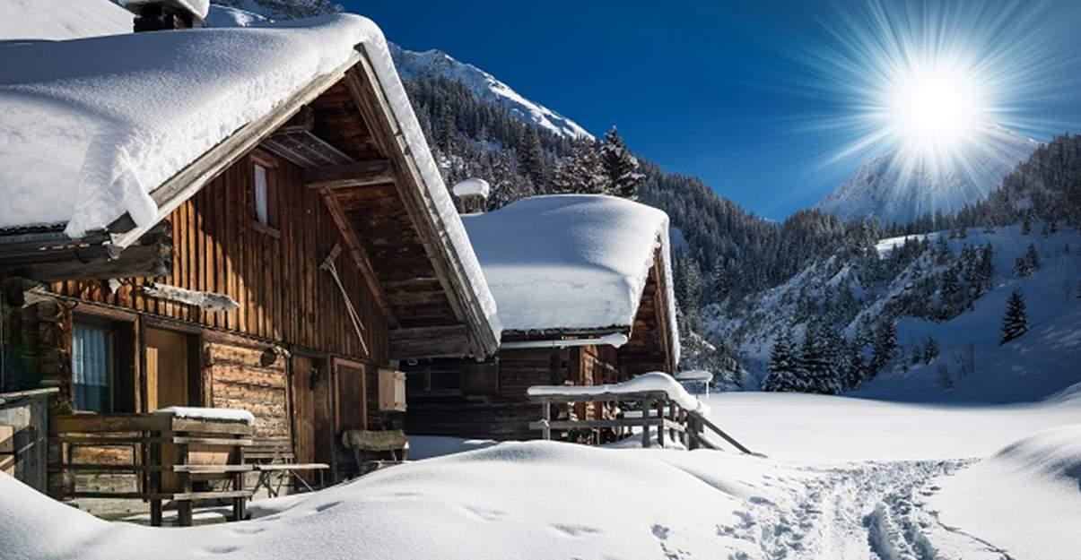 La toiture des chalets, pensée pour résister aux conditions extrêmes