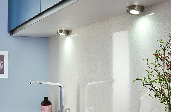 Spot LED rond incliné – Lapeyre