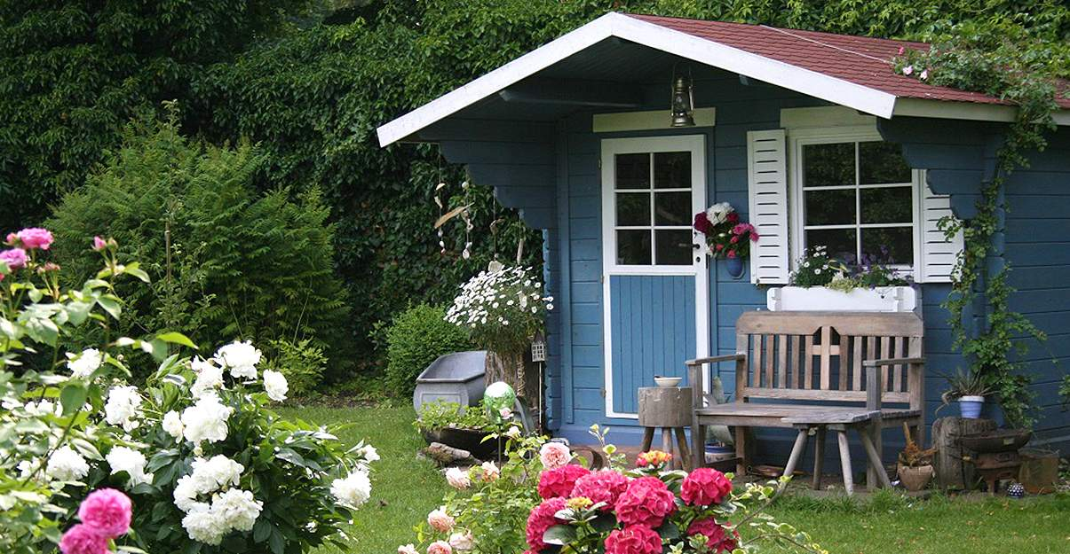 abri de jardin : avec ou sans fenêtre ?