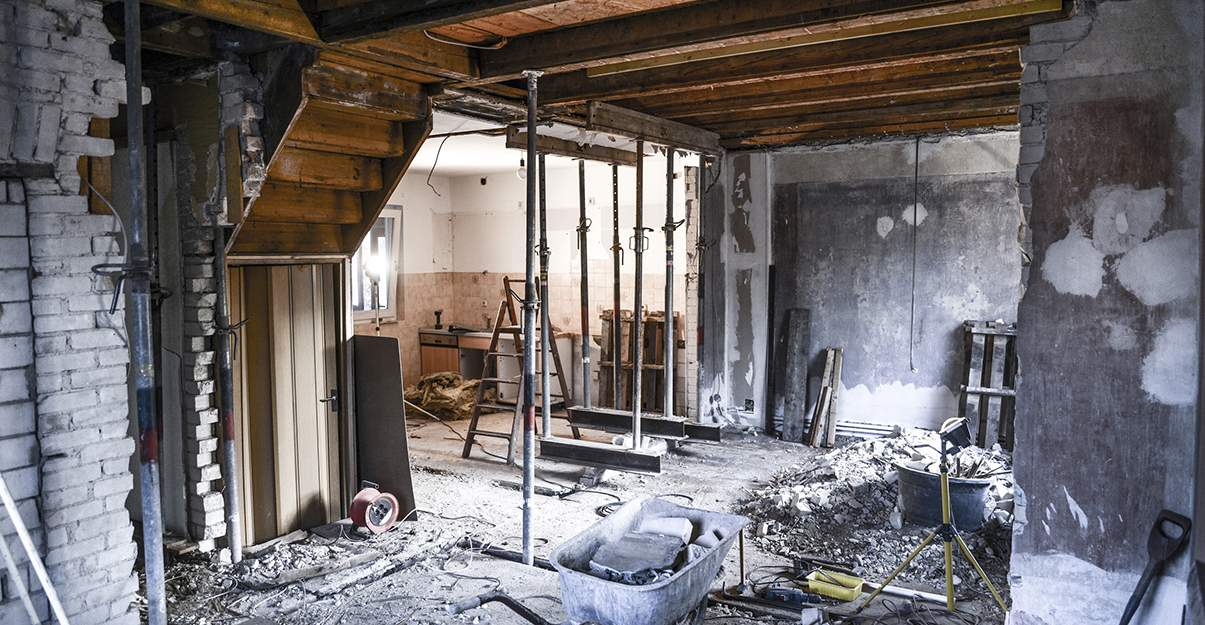 Rénovation lourde: des travaux plus coûteux