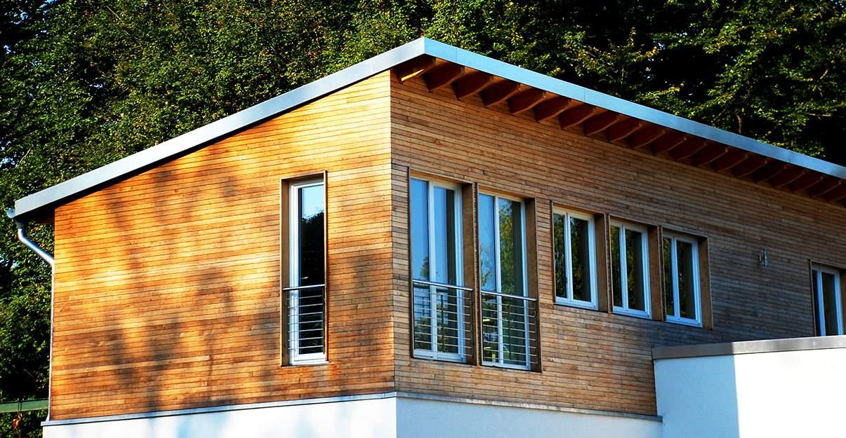 Surélévation d'une maison bois