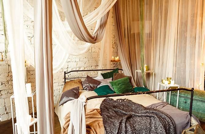 Décoration d'appartement : style hippie chambre