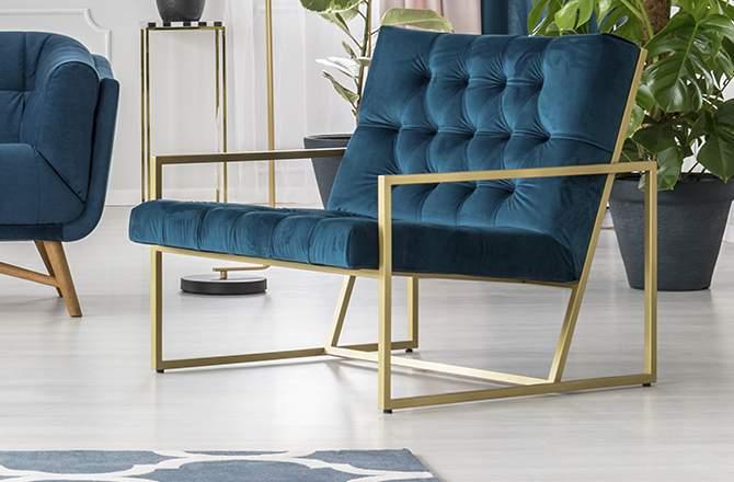 Décoration d'appartement : siège style art déco