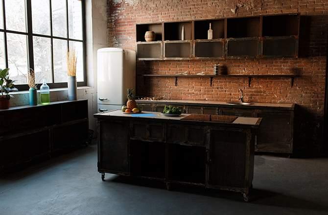 Décoration d'appartement : béton ciré style industriel