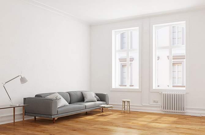 Décoration d'appartement : salon déco minimaliste