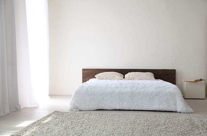 Décoration d'appartement : chambre déco minimaliste