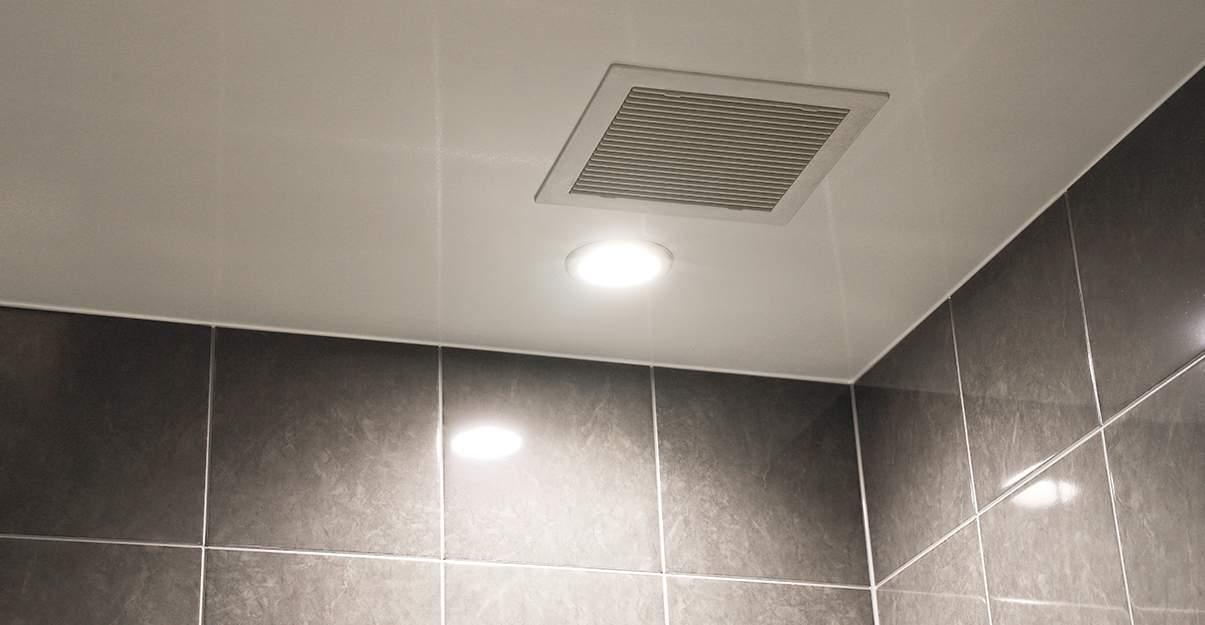La VMC, essentielle pour évacuer l'humidité