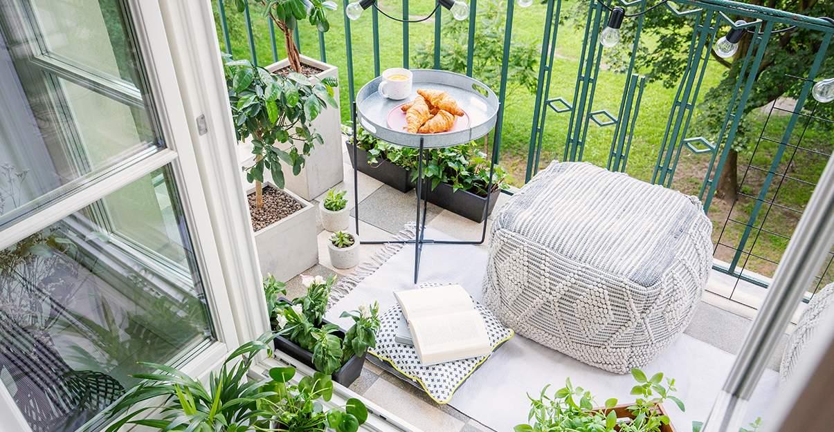 Aménagement d'un balcon : la décoration