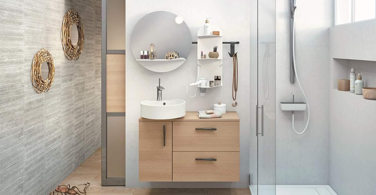 Solution Mini pour salle de bain de petite taille – Envie de salle de bain