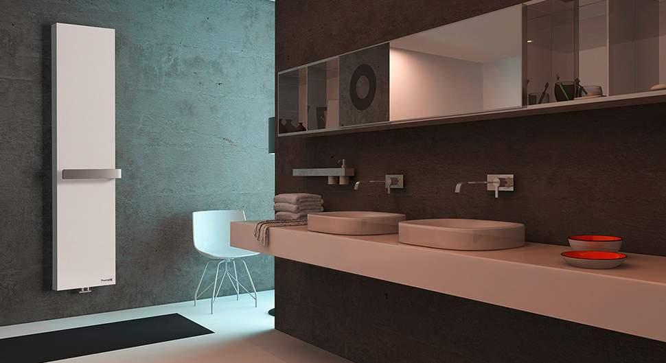 Sèche-serviettes - Le chauffage et la ventilation dans la salle de bain