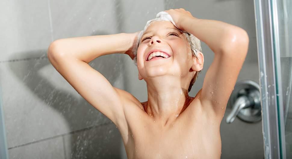 Sécuriser salle de bains - Concevoir un espace douche confortable