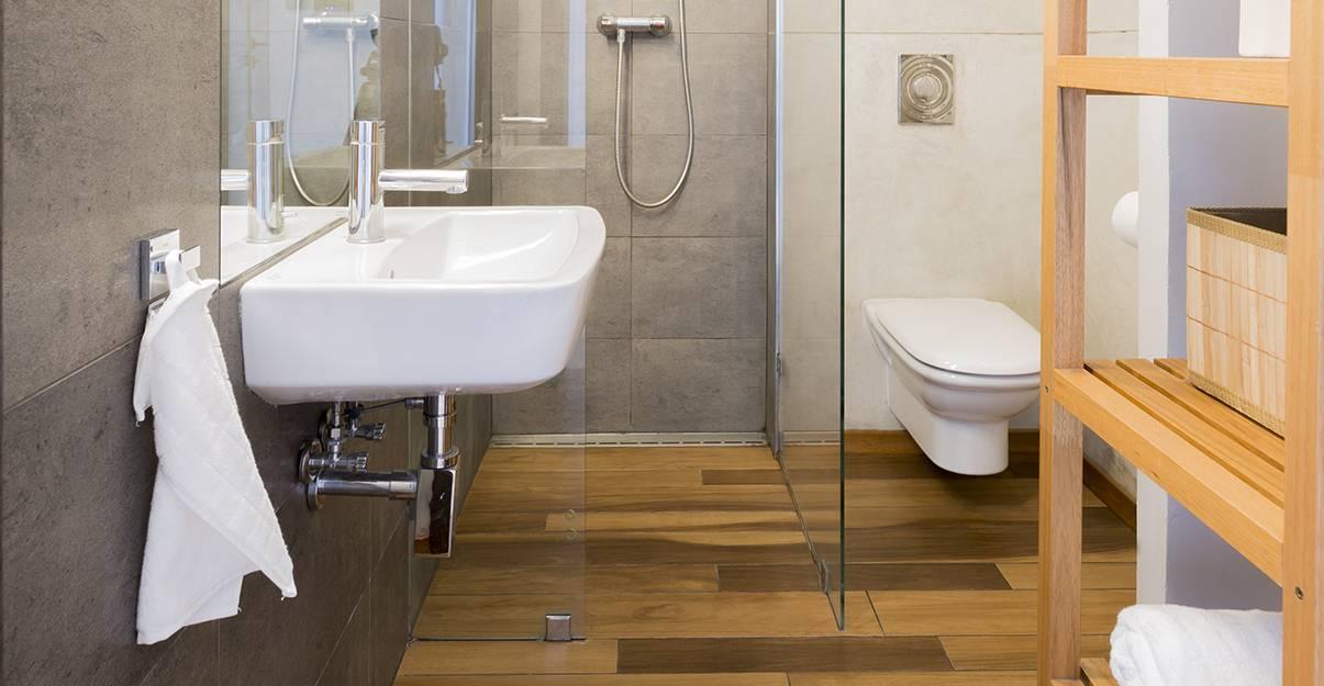 carrelage parquet salle de bain