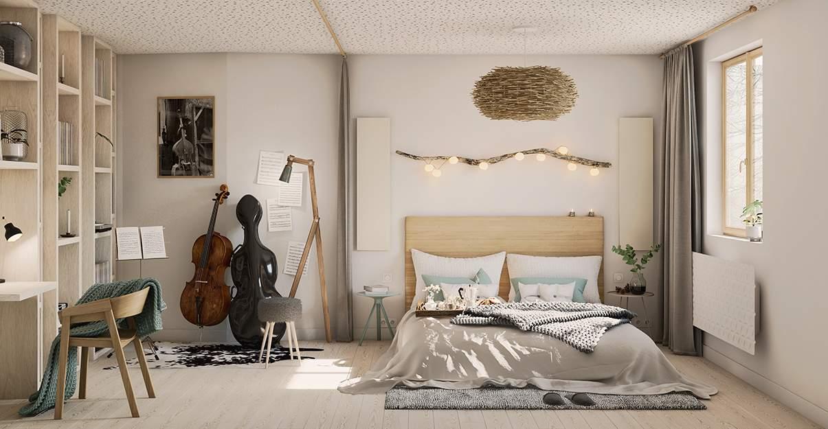 La chambre du musicien
