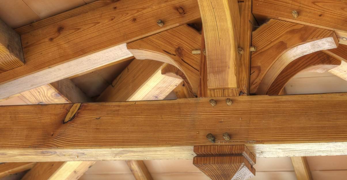 La charpente bois, durable et esthétique...