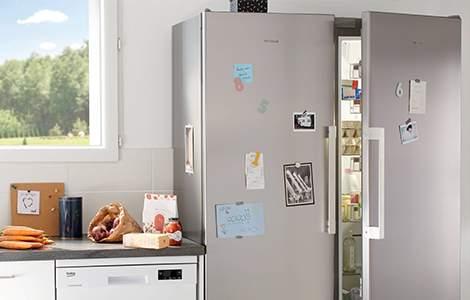 Le réfrigérateur américain