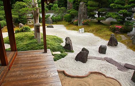 Style de jardin zen