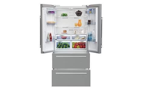 Le réfrigérateur multi portes