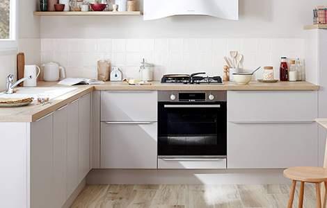 Zoom sur la cuisine en kit