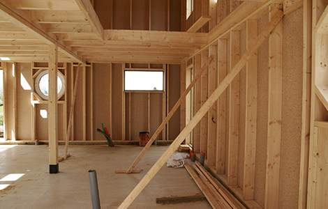 Charpentier : construction d'une maison ossature bois