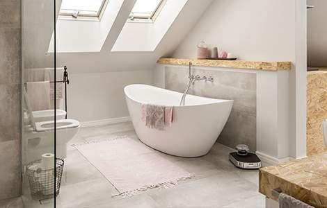 Les combles, un espace idéal pour une salle de bain