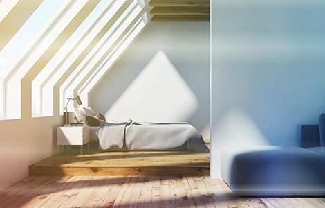 Optimiser la lumière naturelle dans une chambre sous  les combles