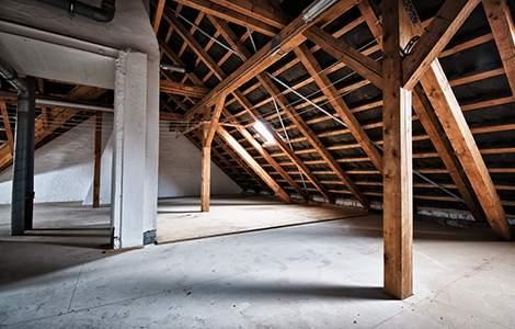 Modification de charpente et renforcement plancher bois