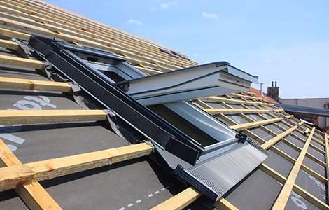 Étanchéité de toiture  : l'écran de sous toiture