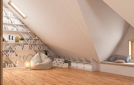aménager ses combles en salon : optimiser l'espace
