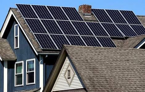 Le toit, espace d'installation des panneaux solaires