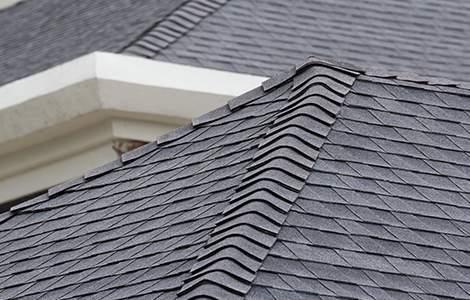 Le toit goudronné