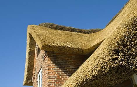 Le toit en chaume