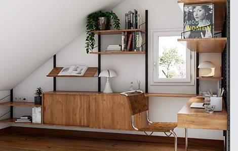 aménager ses combles en bureau :  l'ergonomie