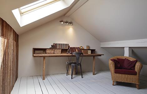 idée rénovation maison : isoler et aménager les combles