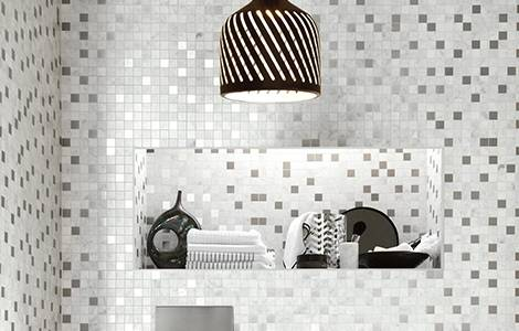 Carrelage salle de bain : la mosaïque
