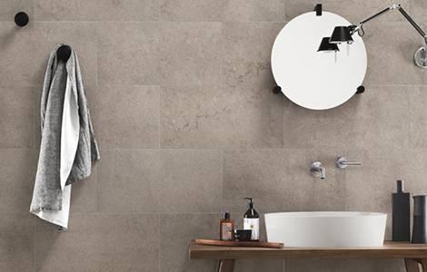 Carrelage salle de bain : le grès cérame