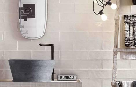 Carrelage salle de bain : la faïence