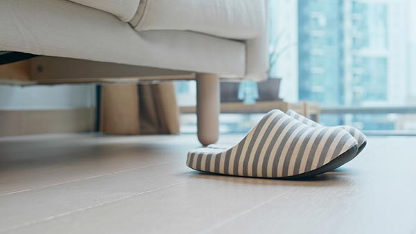 Une chambre confortable, adaptée et sécurisée