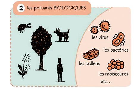 Polluants biologiques