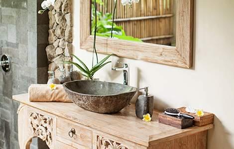 Enduit salle de bain : enduit à la chaux, le chic de la simplicité