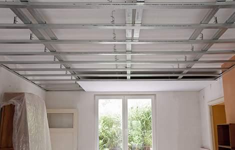 Le plafond suspendu