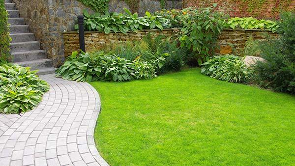 Un jardin fait dans les règles de l'art