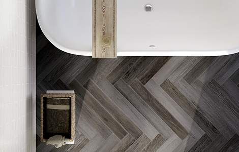Le bois gris, la touche luxe en plus