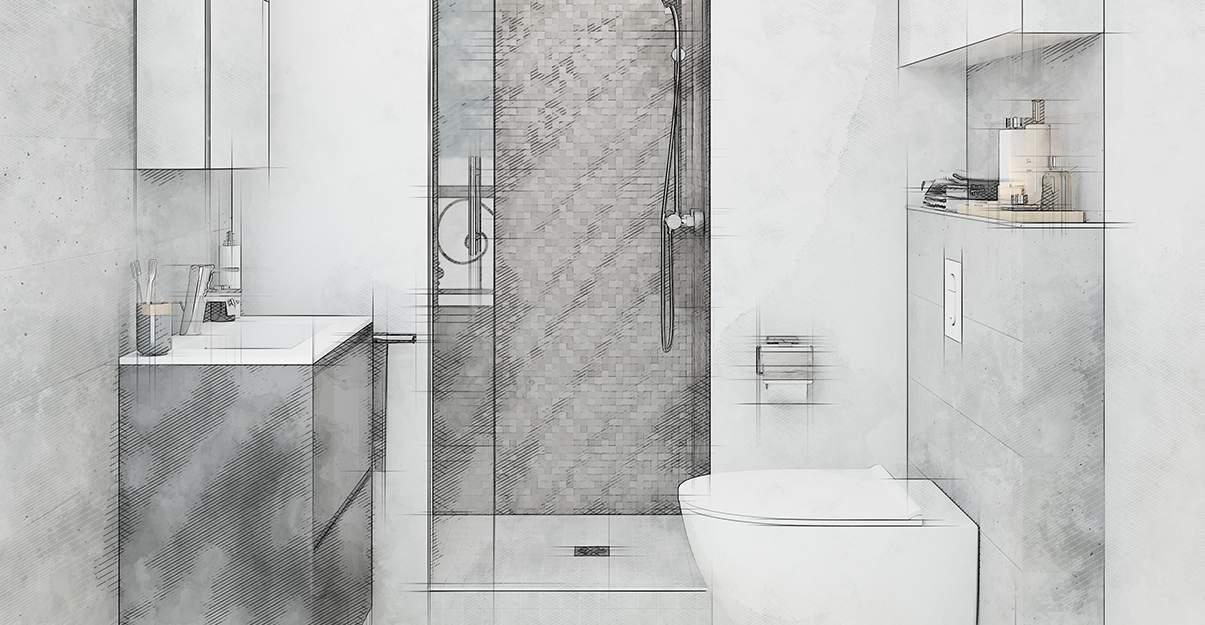Mini salle de bain, maxi fonctionnalité