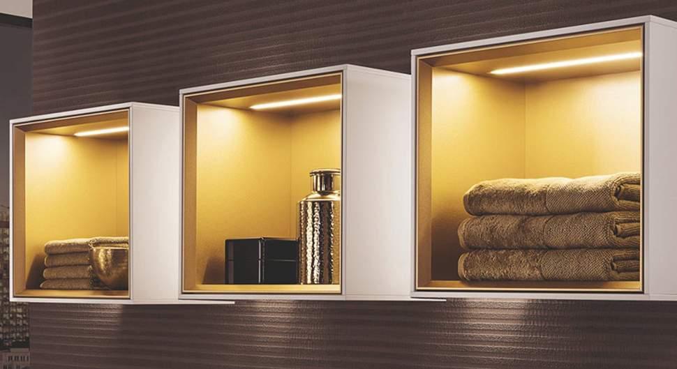Rangement optimisé dans la salle de bain